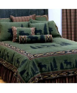 moose bedspread Twin