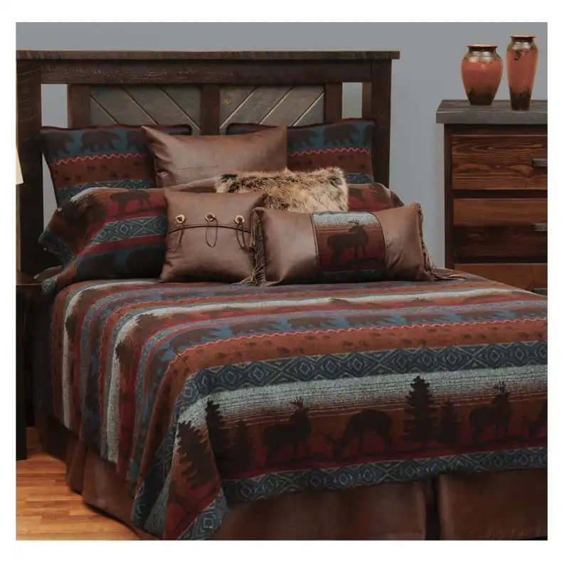 Deer Meadow Cal-King Bedspread