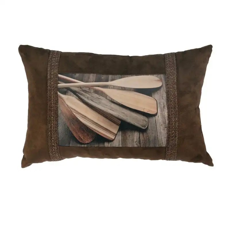 Canoe Oar Pillow
