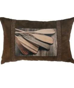 Canoe Oar Pillow