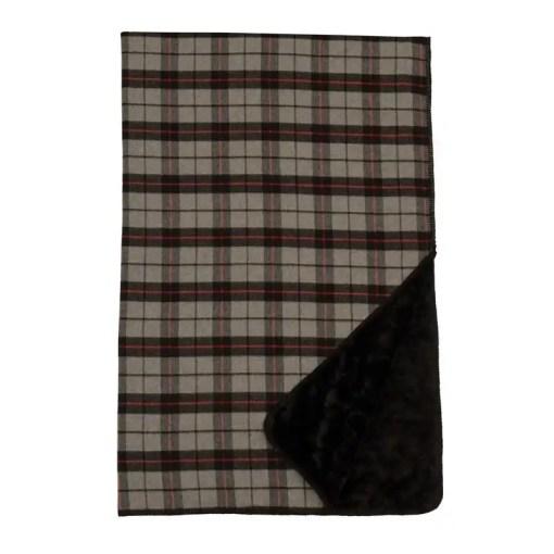 grey-plaid-blanket
