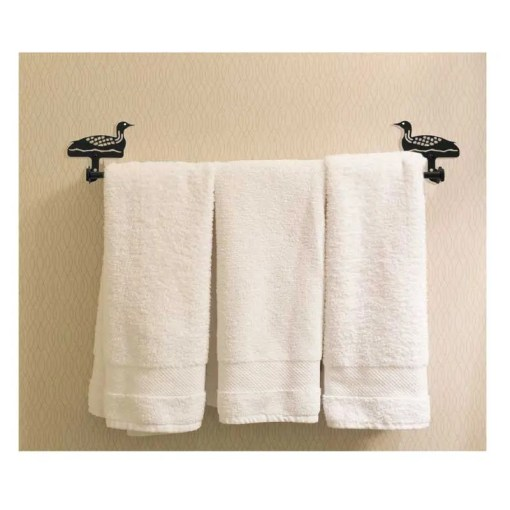 Loon Bath Towel Rack