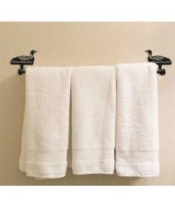 Loon Bath Towel Rack