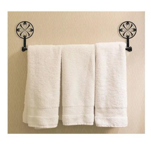 Ribbon Bath Towel Rack