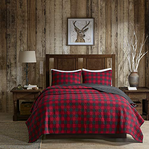 Red-Plaid-Cabin-Bedding