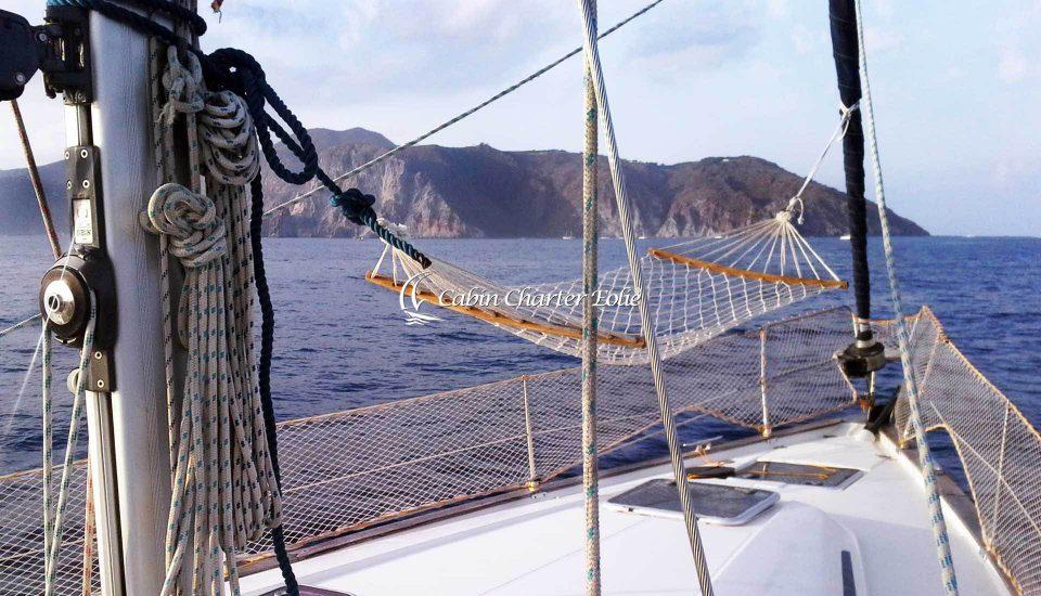 Barca a Vela - Vacanza - Individuale - Cabin Charter Eolie - Sicilia - Italy