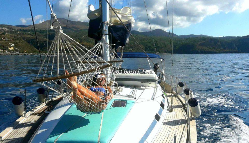 Punta Licosa - Relax - Crociera Barca a Vela – Bambini - Cabin Charter Eolie