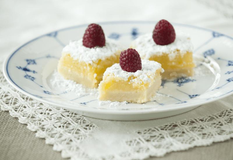 raspberry breakfast desert