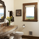 rooms gallery full luxurious bathroom in Sonoma Suite with natural elegance