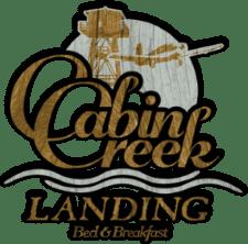 Cabin Crekk Landing B&B logo