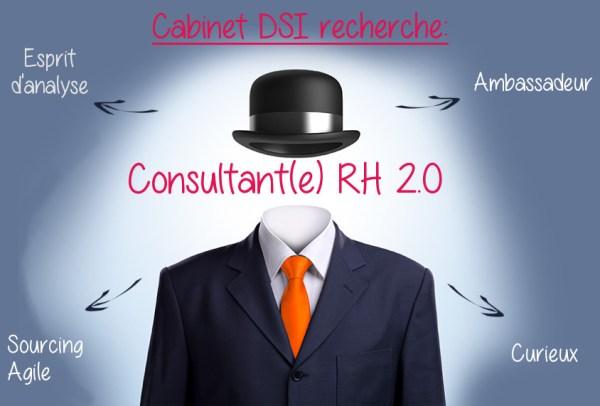 Offre d'emploi du Cabinet DSI pour consultant RH 2.0