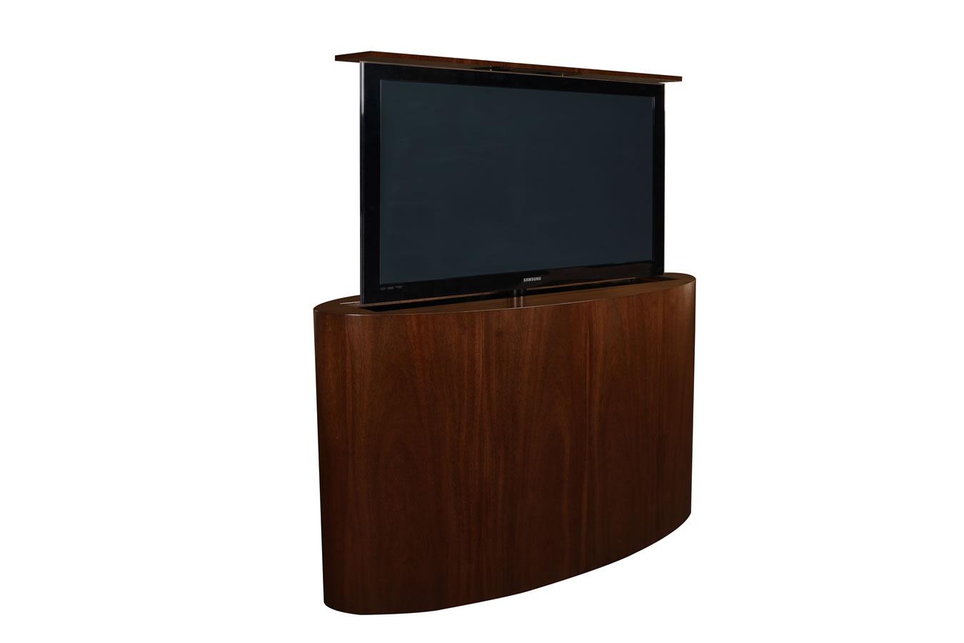 Custom tv lift  Atlantis Oval TV Lift  Cabinet Tronix