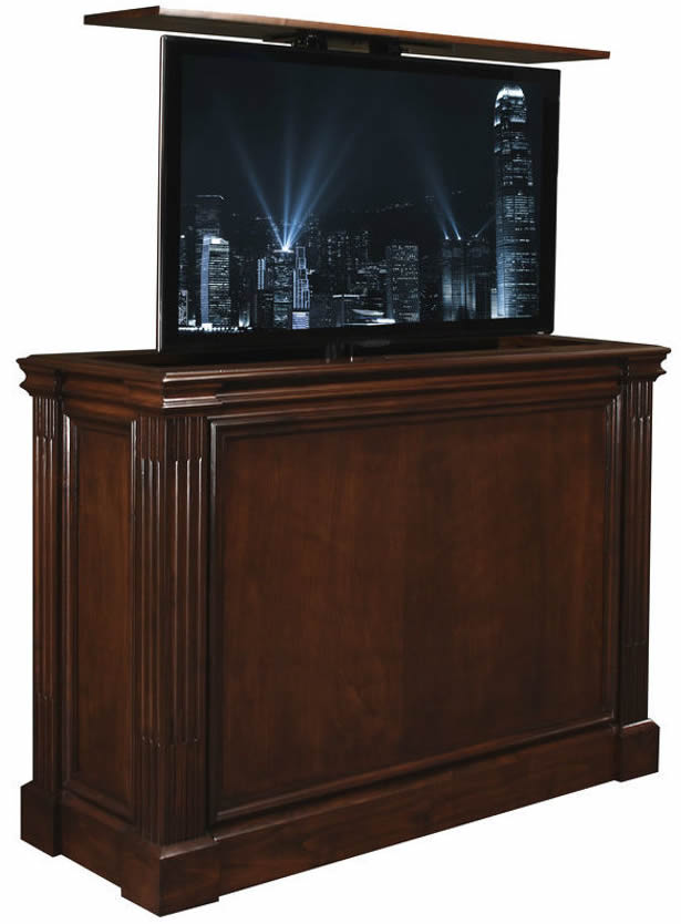 Ritz_Auburn_Brown_US_Made_TV_Lift_Cabinet_holds_many_50