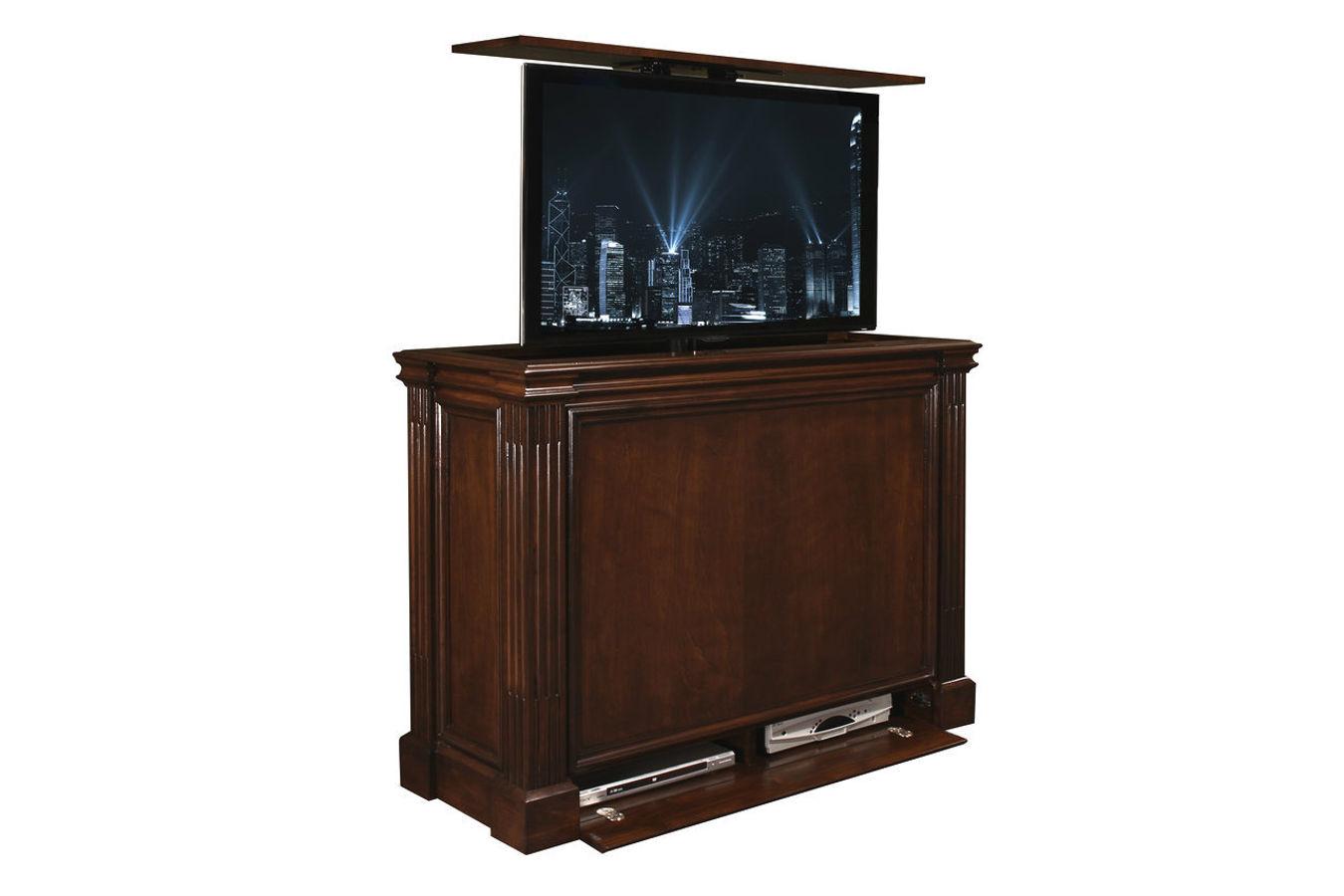 Ritz Motorized TV lift cabinet at Cabinet Tronix