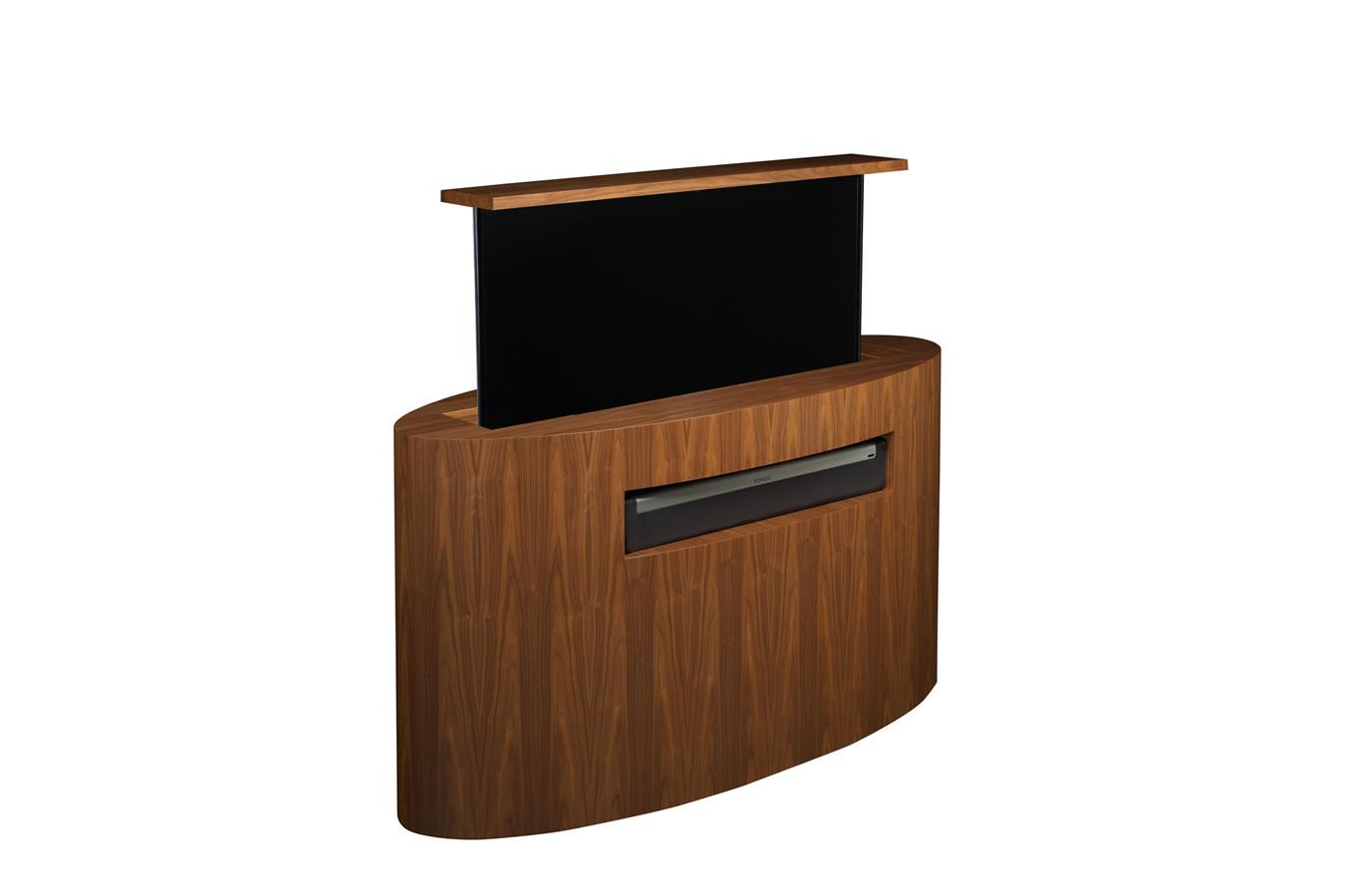 Custom tv lift  Atlantis Oval TV Lift  CabinetTronix