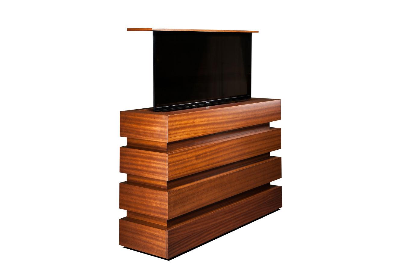Pop up TV lift kit  La Bloc Flat Screen TV Lift kit Cabinet