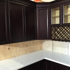 Coffee Color Kitchen Cabinets On A Budget Espresso Colored Recessed Panel