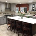 Grey maple kitchen cabinets k3 gallery image