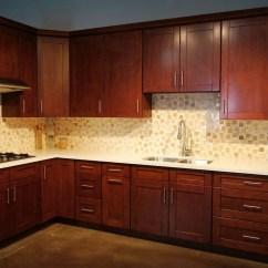Espresso Shaker Kitchen Cabinets Mdf Mahogany Rta | Cabinet City
