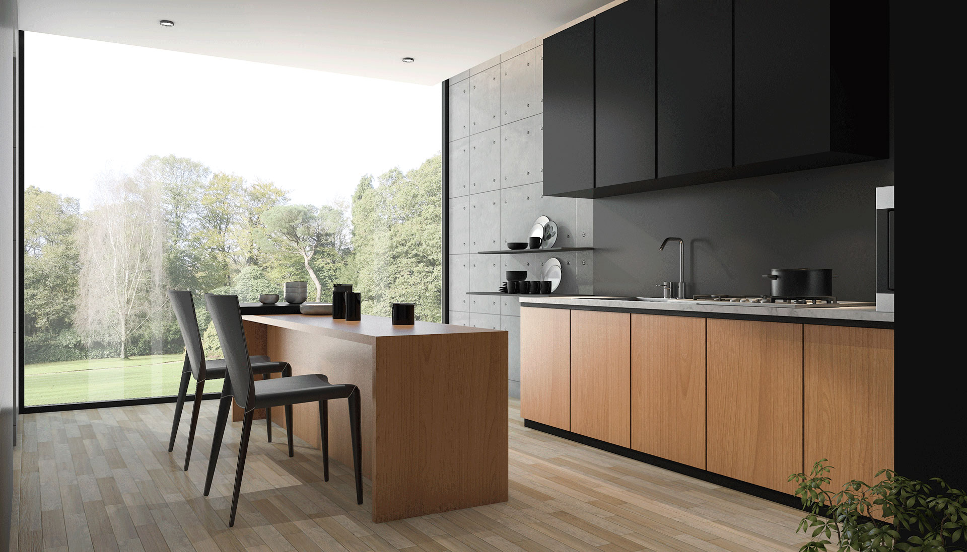 To Be Or Not To Be Open Concept Kitchen  CabinetCorp