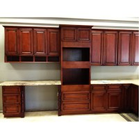 Cabernet Merlot - Antique Cabinets - Cherry Kitchen ...