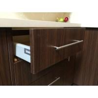 Linen Brown Kitchen Cabinets - Modern Cabinets - Grey ...