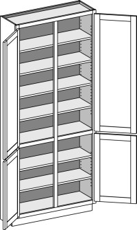 Tall Cabinets - Cabinet Joint