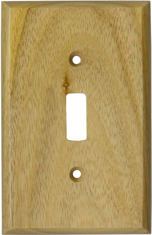 Wood SwitchOutlet Plates  Wood Vents  Cabinet Joint