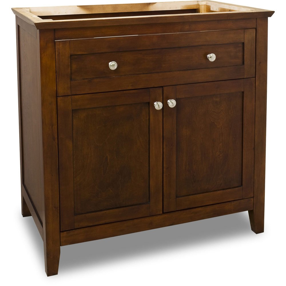 Hardware Resources Shop VAN09036  Vanity  Chocolate  Jeffrey Alexander Large Bathroom
