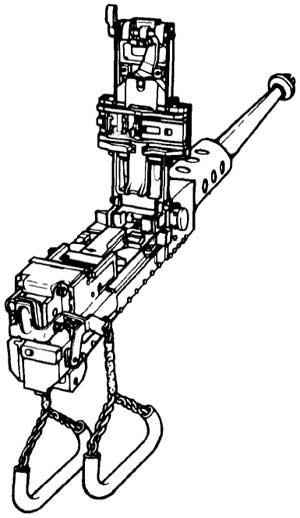 Mounted 50 Cal Machine Gun
