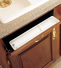rev a shelf 6572 6581 series sink front trays rev a shelf tip out trays