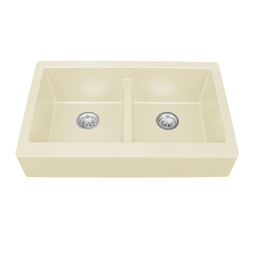 Karran Quartz Sink QAR 750 Undermount Double Equal Bowl W