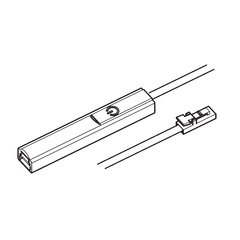 Hafele Loox 2024 LED Driver Connection Cable with Dimmer