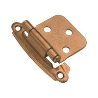 Hickory Hardware Variable Overlay Hinge Pair Satin Bronze ...