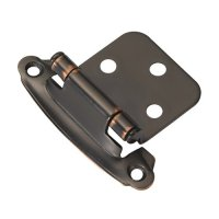 Hickory Hardware Variable Overlay Hinge Pair Oil Rubbed ...