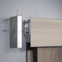 Grant Door Hardware by Hettich Grant SD/HD Fascia End Cap