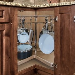 Kitchen Cabinet Brands Reviews Hgtv Remodel Shows Rev-a-shelf Not So Lazy Susan Cookware Organizer Maple 28 ...