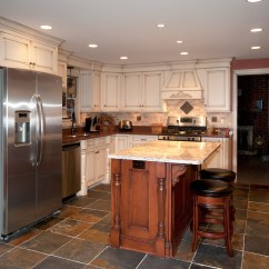 Kitchen Cabinets With Legs How To Design A Island Painted Accent - Custom Cabinetry By ...