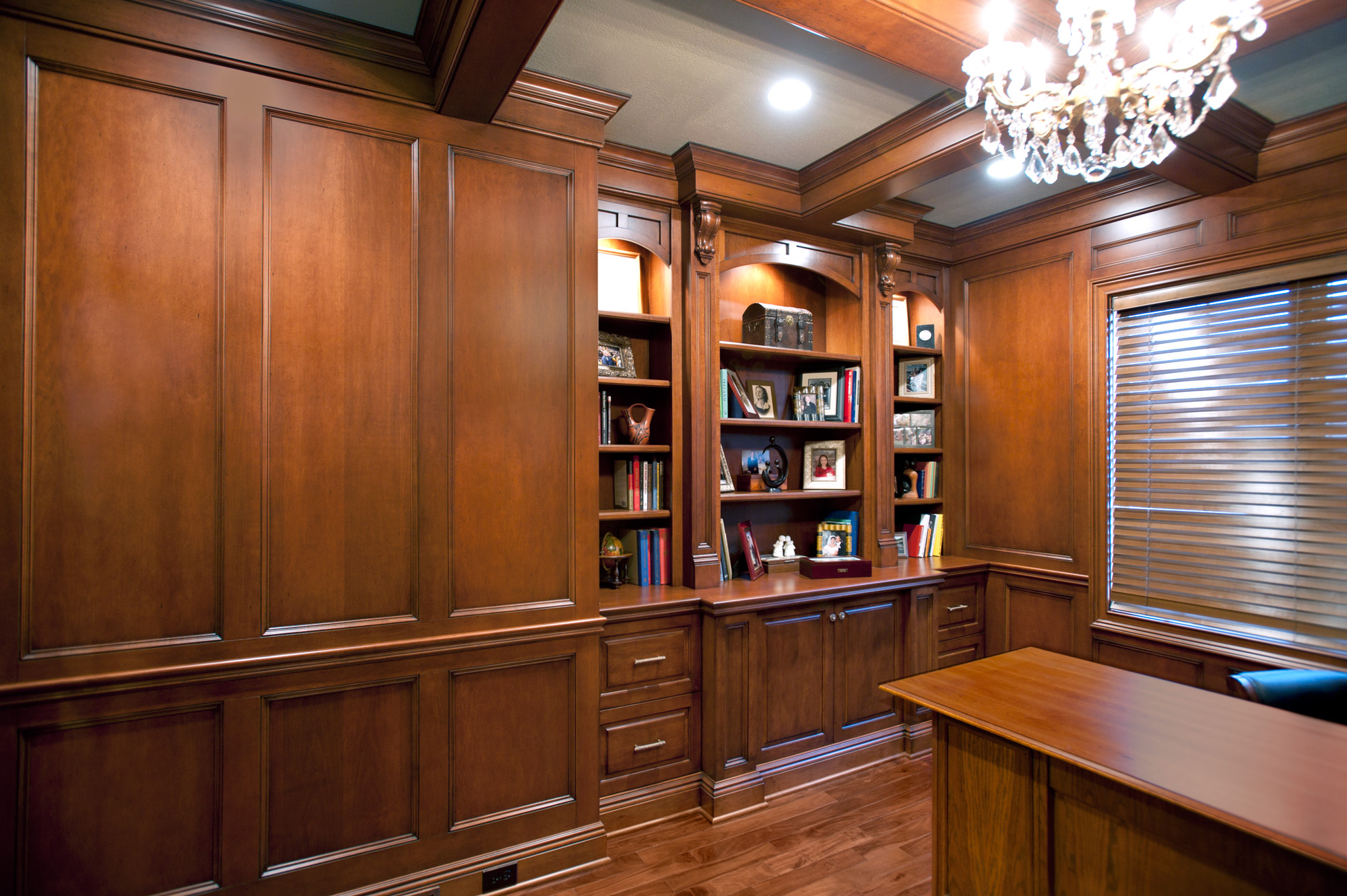 Wall Panels  Custom Cabinetry by Ken Leech