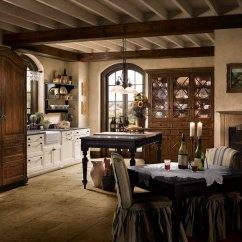 Wood Mode Kitchen Cabinets Pendant Lighting Island Provence