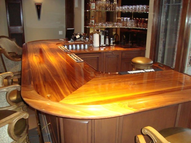 Ultra Glossy Bar  Cabinets by Graber