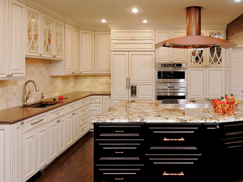 Old World Kitchen  Cabinets by Graber