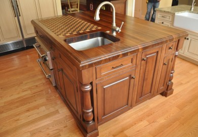 Custom Kitchen Island Designs