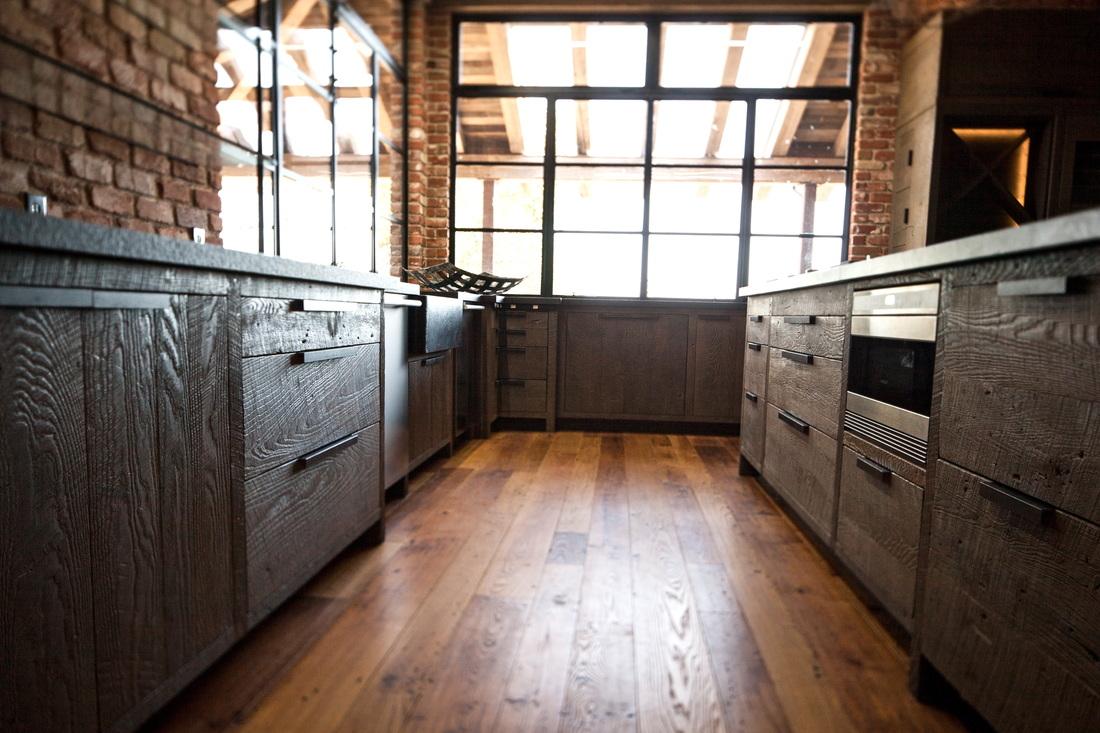 Reclaimed Wood Cabinets Katy Cabinets Katy