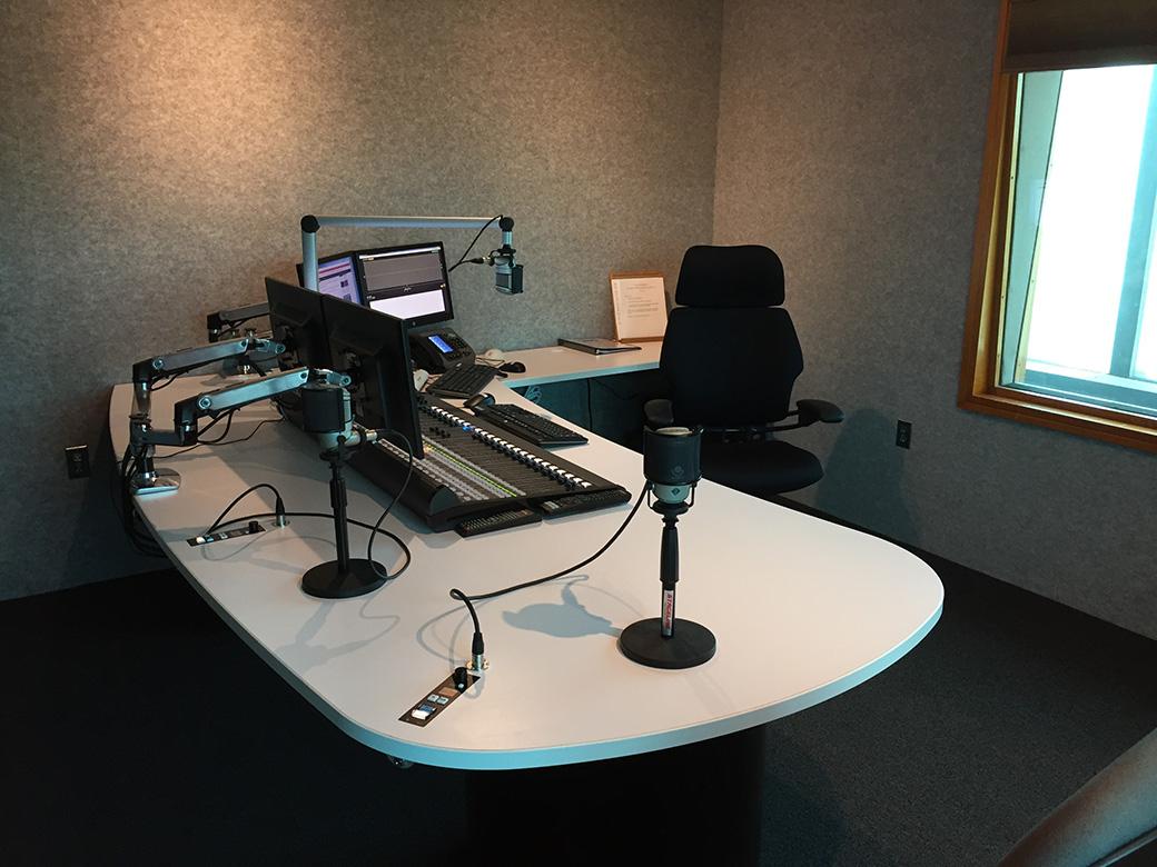 Broadcast Furniture  Control Room  Radio Studio