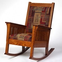 Amish Living Room Chairs: Wooden Rocking Chair Nursing ...