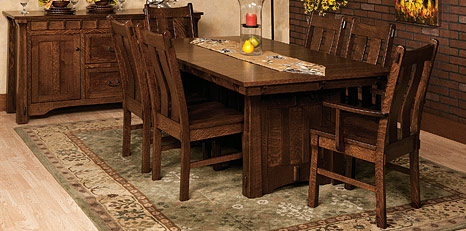 amish kitchen tables remodel ideas on a budget dining room sets chairs cabinfield mission craftsman arts crafts collection