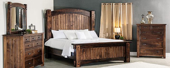 rustic bedroom furniture headboards