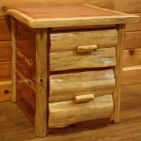 Red Cedar Amish Bedroom Furniture Set – Log Furniture ...
