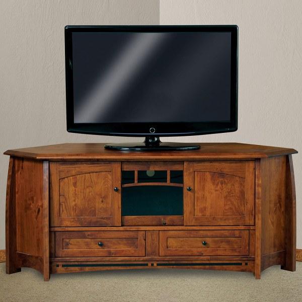 Corner TV Stands Media Cabinet